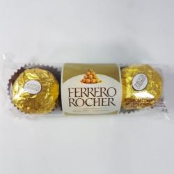 Ferrero rocher  com 3 un